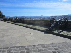 Canons on the old fort