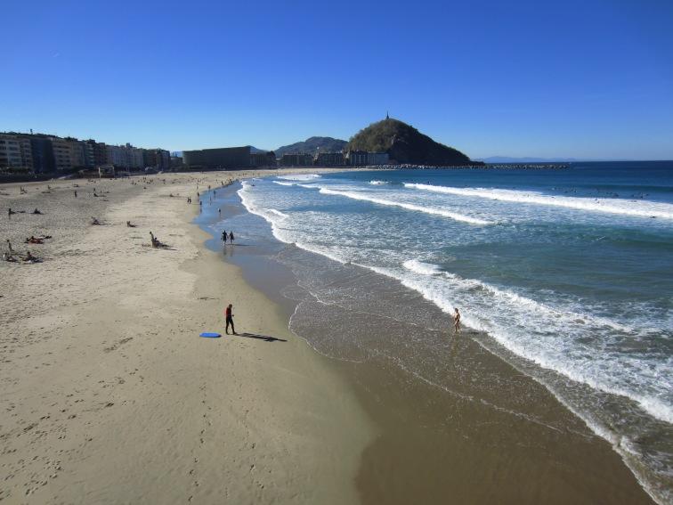 The surfer beach