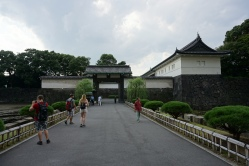 Entering the Imperial Palace
