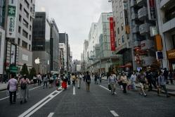 Walking around Ginza