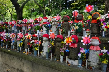 Shrine to miscarried and stillborn children