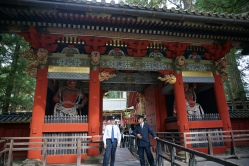 Entrance to Toshogu Shrine