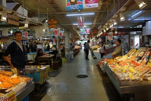 Inside the Morning Market