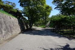 The remains of Fort Goryokaku