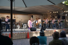 One of the bands performing at the festival