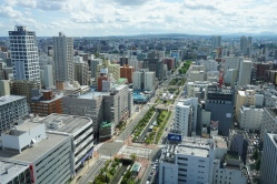 Another view of Sapporo from the TV tower
