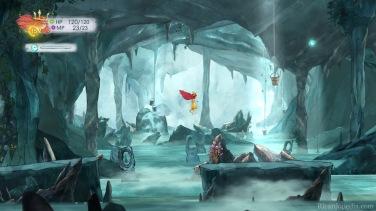 Exploring a cavern