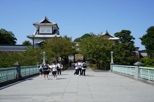 Entrance to Kanazawa Castle