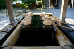 Water for ceremonial hand washing