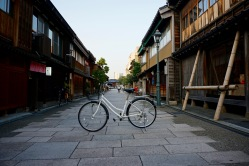 My bike in the Nishi Chaya District