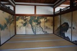 Priest's room at Ninnanji Temple