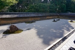 Ryoanji Temple's rock garden