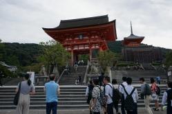 Kiyomizudera Temple entrance