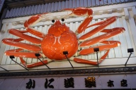 The Kani Doraku crab sign