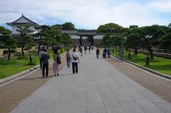 Osaka Castle entrance