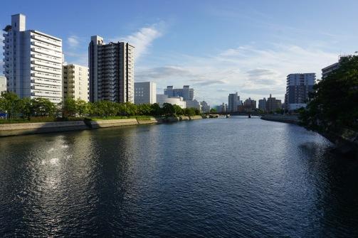 Arrival in Hiroshima