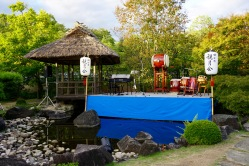 The stage in the 9th garden