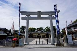 Shrine at Hiroshima Castle