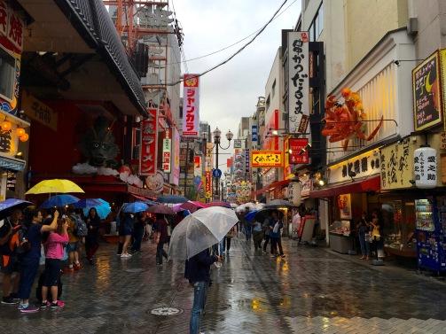Rainy Dotonbori