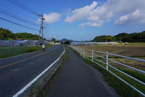 Cycling through rural Japan