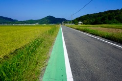 Cycling through rural Japan
