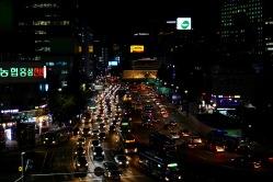 Traffic near Seoul Station