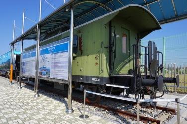 Peace Car at Dorasan Station