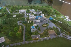 Scale model of the Joint Security Area