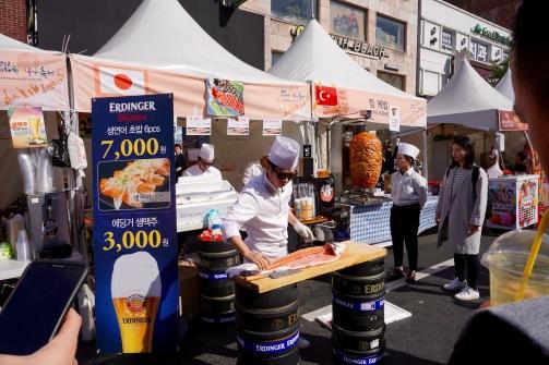 Sushi demonstration