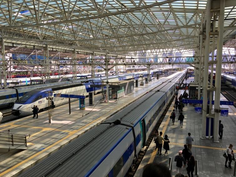 Inside Seoul Station