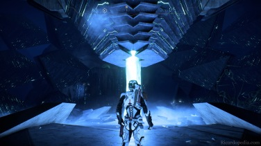A mysterious vault