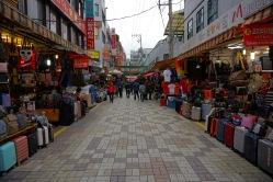 Shopping street near BIFF Square