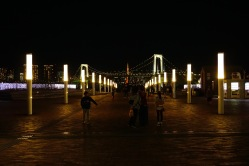 Walking around Odaiba Island