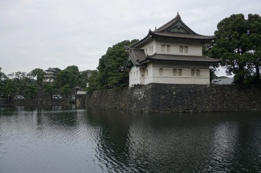 Leaving the Imperial Palace