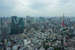 Tokyo Tower on the right