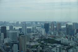 Looking towards Odaiba Island