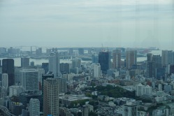Looking towards Odaiba Island