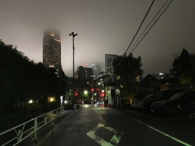 Low clouds in Shibuya