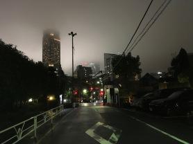 Tokyo Shibuya Night Clouds