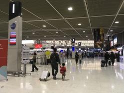 Inside Narita Airport