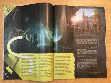 Featured article on Anthem