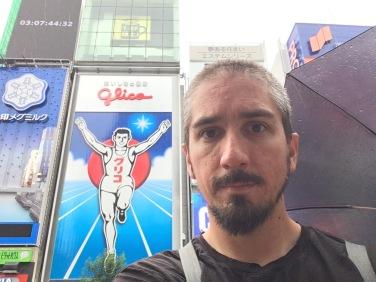 The Running Man sign in Osaka