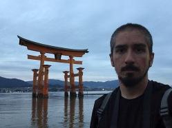 The floating torii of Miyajima