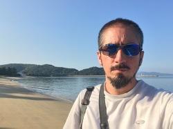 Random hidden beach near Itoshima