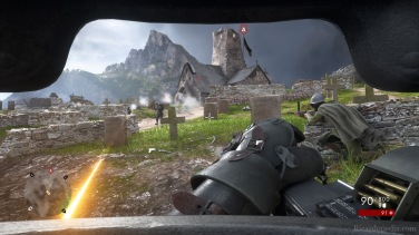 Assaulting a mountain stronghold in a suit of armor