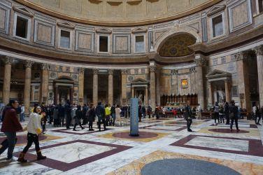 Rome Pantheon Interior