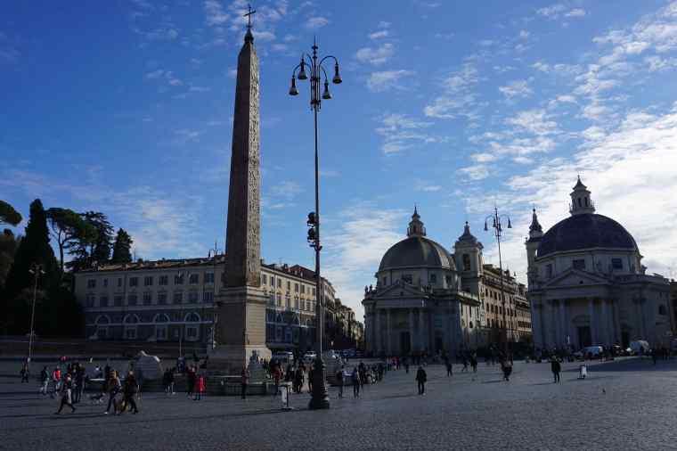 Rome Italy Piazza Del Popolo