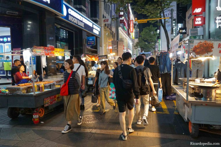 Seoul Korea Myeongdong