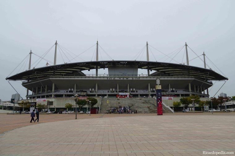 Seoul Korea Stadium Walk