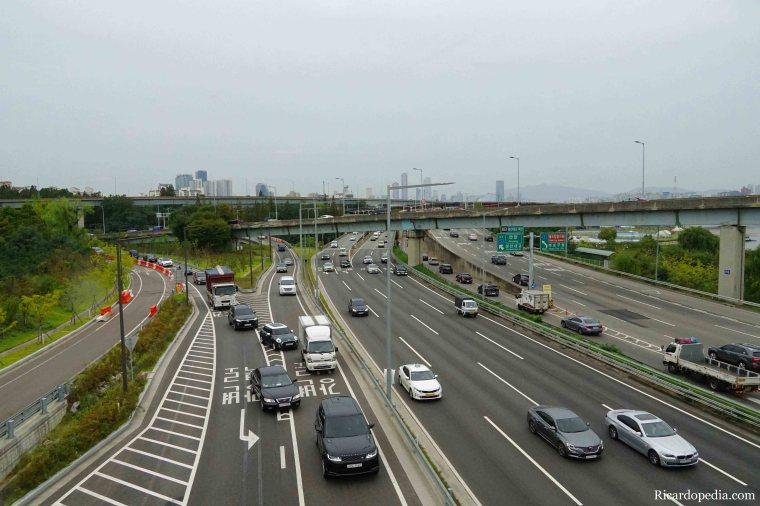 Seoul Korea Highway Walk
